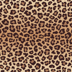 Leopard seamless pattern, imitation of leopard skin