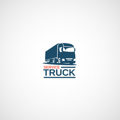 Truck Service logo.
