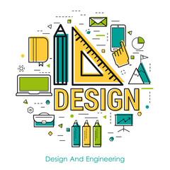 Line Art - Design And Engineering
