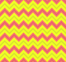 Geometric seamless pattern. Zigzag background. Vector