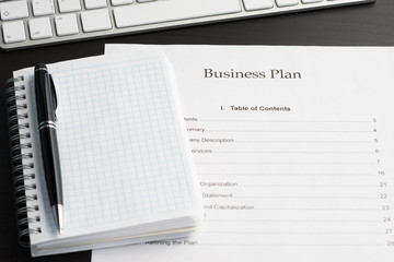 Business plan document