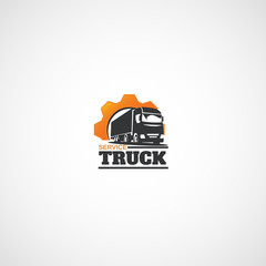 Truck and Gear logo.
