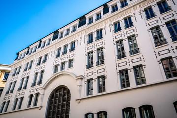 Immeuble ancien rénové à Lyon