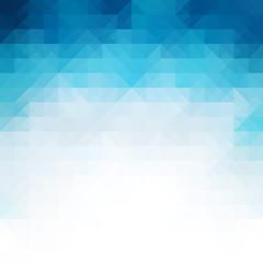 Blue Mosaic Background, Creative Design Templates
