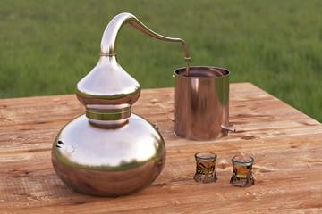 Home distilling still pot