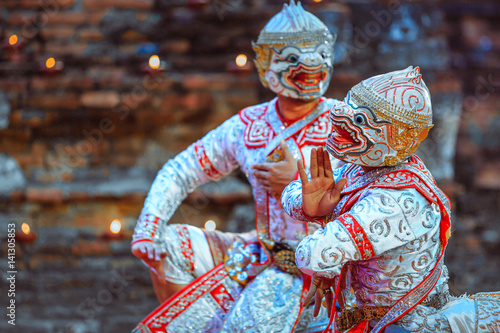 how to train for khon dance drama