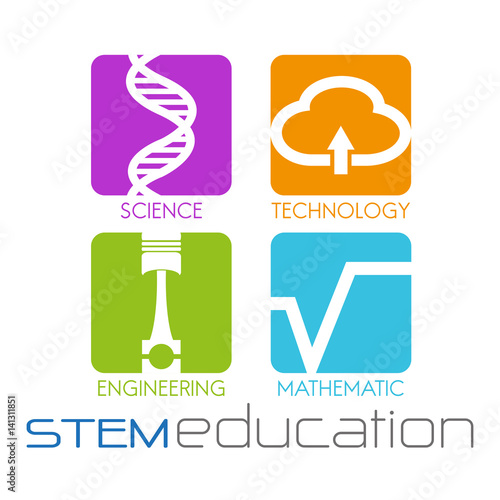 "Stem School Finder: ""stem Education Logo"" Stock Image And Royalty-free Vector"