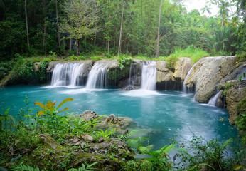 Printed roller blinds Waterfalls Deep rainforest waterfall National Park.