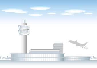 空港の風景A