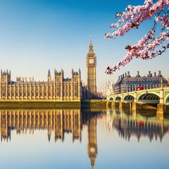 Big Ben i Westminster most w Londynie