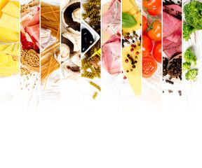 Various Food Mix