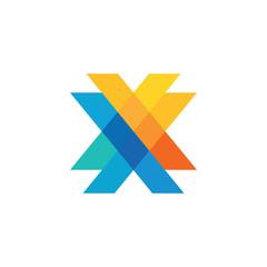 Creative Letter X Logo Concept Vector Eps10