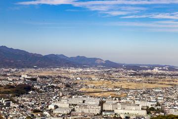 湘南平から眺める大山