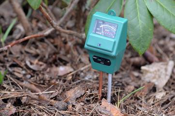 Soil moisture, light and PH meter