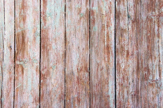 Distressed weathered wood