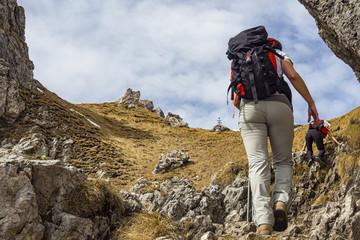 Trekking sulle alpi