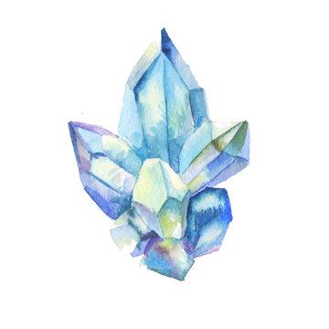 Crystal watercolor