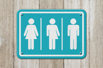 All inclusive transgender sign