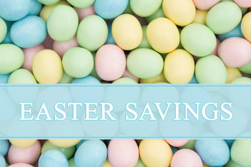 An ad for an Easter sale