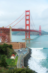 San Francisco - California, Golden Gate Bridge, California, Famous Place, International Landmark
