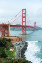 San Francisco - California, Golden Gate Bridge, California, Famous Place, International Landmark