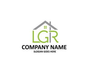 LGR Letter House Logo