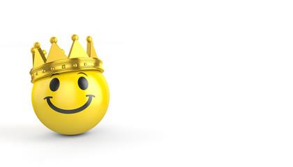 Smiley / Krone / König