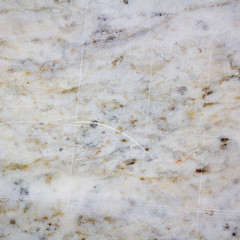 Part of the marble plates with scratches. Square abstract background