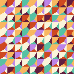 Abstract decorative colorful texture. Seamless pattern. Vector