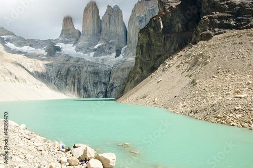 Fotobehang Torres Del Paine - Chile