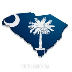 Map South Carolina