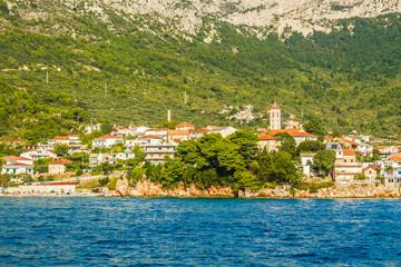 Chorwacja - Makarska Riviera i miasteczko Gradac.