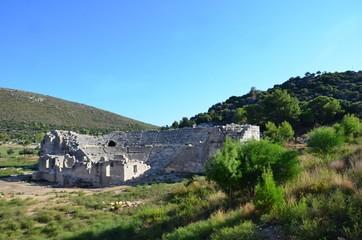 Ruines, Patara, Turquie