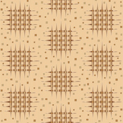 seamless pattern in brown beige tones