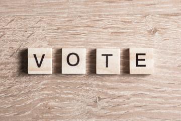 Vote word