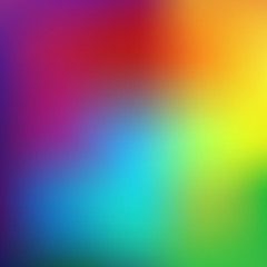 Abstract rainbow background. Blurred colorful rainbow background. Mesh background of rainbow colors. Illustration