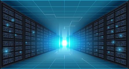 Server room background