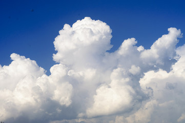 Canvas Prints Heaven Blue sky and Clouds