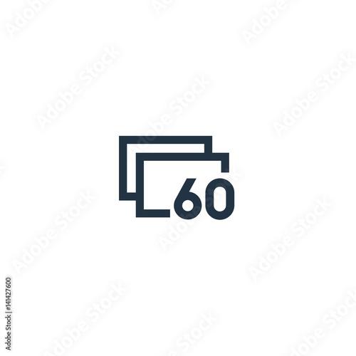 60 Frames Per Second\