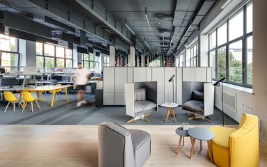 Coworking in loft style