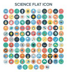 Science Flat Icon Set