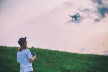 Drone girl