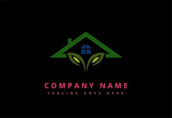 Fresh Green Garden House logo