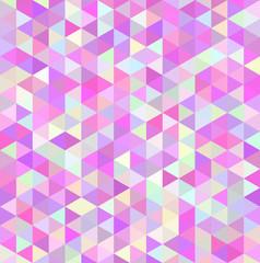 モザイク 三角 ピンク