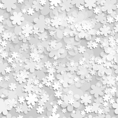 Bezszwowe Kwiaty Tła