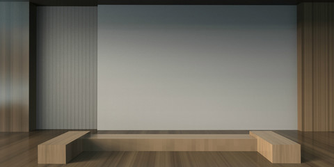 Arts and Gallery Minimal Creative modern Room and working style