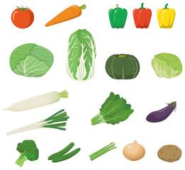 野菜のイメージイラストセット
