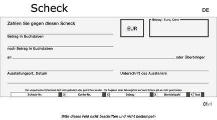 Neutrale, hellgraue Scheck Vorlage