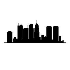 cityscape building isolated icon