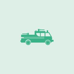 Fire engine icon.